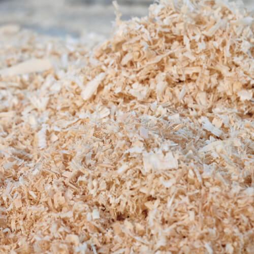 Holzpellets Grundmaterial