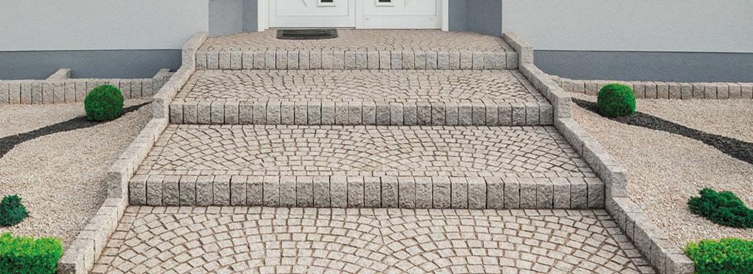 Natursteintreppen Granit