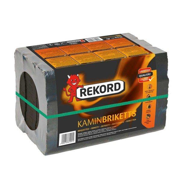 Rekord Braunkohle Briketts Verpackung