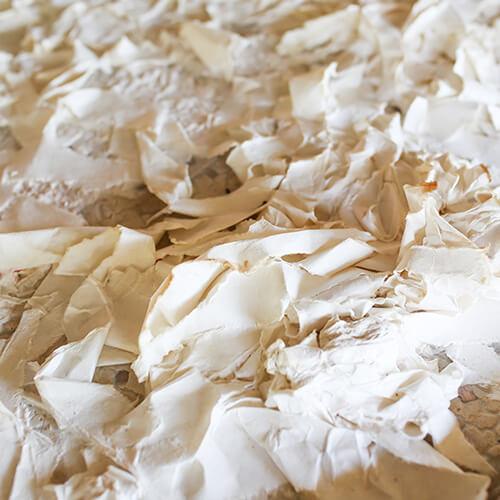 Papiergranulat