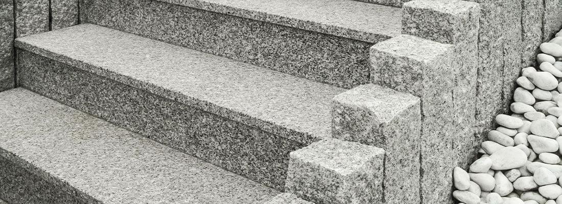 Natursteintreppen aus Granit